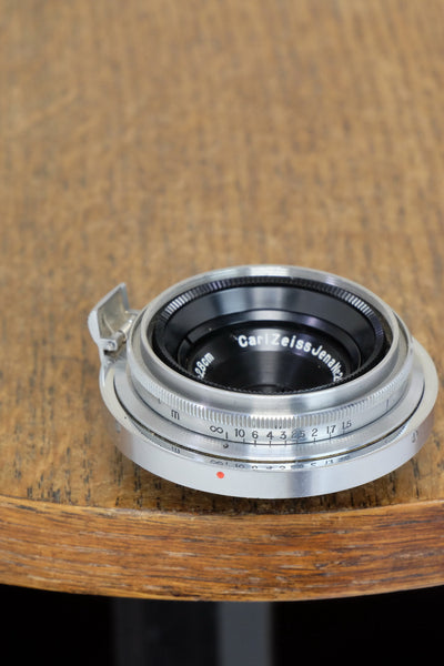 Near Mint! 1937 CARL ZEISS 28mm wide angle lens for  Contax II