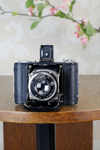 1932 Nagel Vollenda with Tessar lens, Freshly Serviced, CLA'd