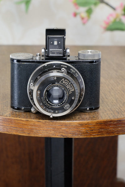 Excellent! 1931 NAGEL PUPILLE camera, Freshly Serviced! - Nagel- Petrakla Classic Cameras