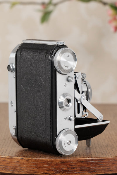 Near Mint! 1938 Welta Weltini, 35mm Rangefinder Camera, CLA'd, Freshly Serviced! - Welta- Petrakla Classic Cameras