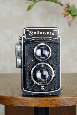 SUPERB! 1936 Rolleicord CLA'd, Freshly Serviced!