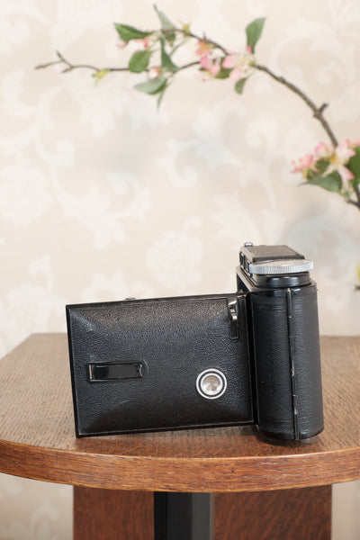 Superb! 1936 Voigtlander 6x9 Bessa Rangefinder with Skopar lens, Freshly Serviced, CLA'd.