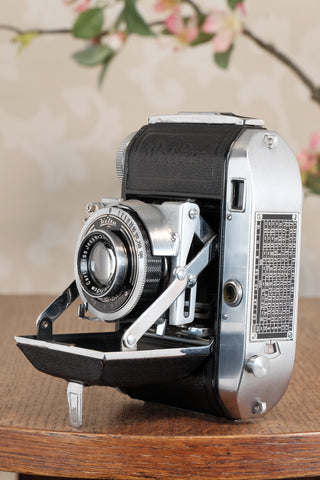Excellent! 1937 Welta Weltini, 35mm Rangefinder Camera, CLA'd, Freshly Serviced!