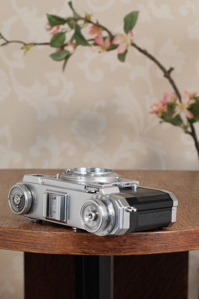 1951 Zeiss Ikon Contax IIa, CLA'd, Freshly Serviced!
