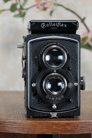 Superb! 1932 Rare early Old Standard Rolleiflex, Freshly Serviced, CLA'd