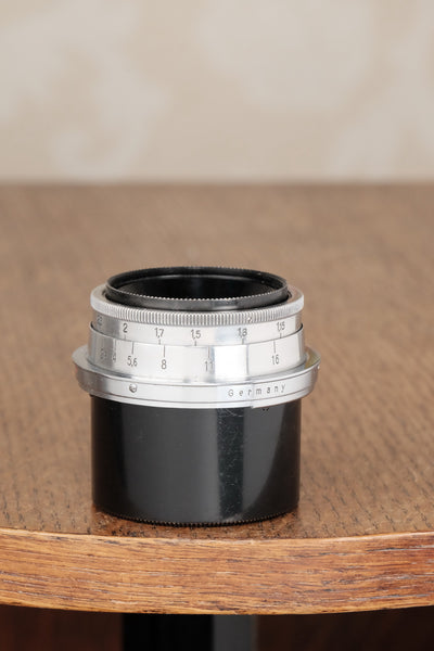"Carl Zeiss 2.8/35mm ""T"" Coated Biogon Contax Lens - Carl Zeiss Jena- Petrakla Classic Cameras"