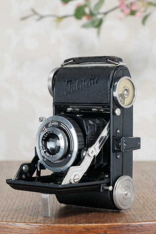 Superb! 1938 Balda Jubilette, 35mm camera, with Original Leather Case, CLA'd, Freshly Serviced!
