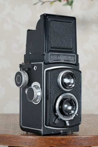 1939 Rolleicord, CLA'd, Freshly Serviced!