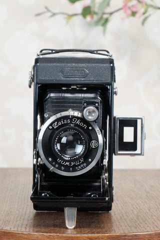 Superb! 1931 Zeiss-Ikon Ikonta 6x9, CLA'd, Freshly Serviced!