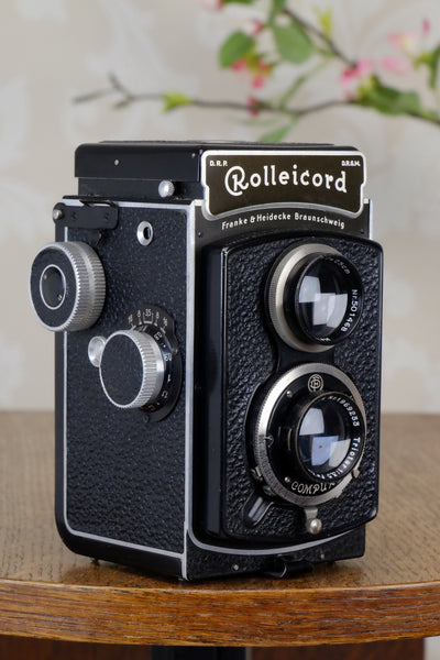 SUPERB! 1937 Rolleicord. CLA'd Freshly Serviced!