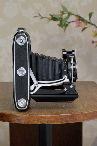 Excellent! 1937 6x9 Super Ikonta with Tessar Lens, CLA'd, Freshly Serviced! - Zeiss-Ikon- Petrakla Classic Cameras