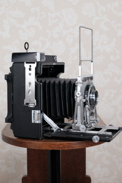 Near Mint! 1956 Graflex Crown Graphic, 4x5 coupled Rangefinder, CLA'd, FRESHLY SERVICED!