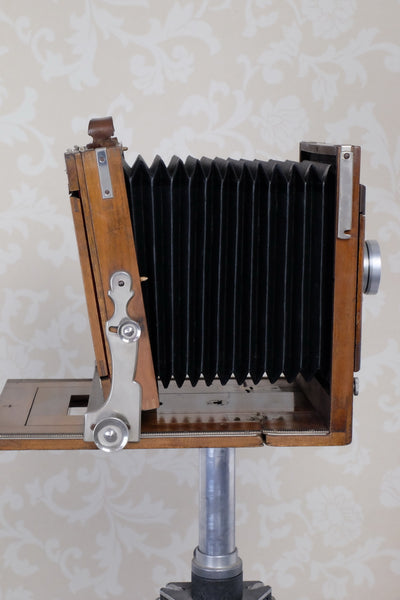 Excellent! 1900 Large Format 5x7 camera with 180mm HELIAR lens! CLA'd, Freshly Serviced - Voigtlander- Petrakla Classic Cameras