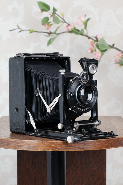 1925 Voigtlander 9x12 Bergheil Camera with HELIAR LENS! Freshly serviced CLA'd