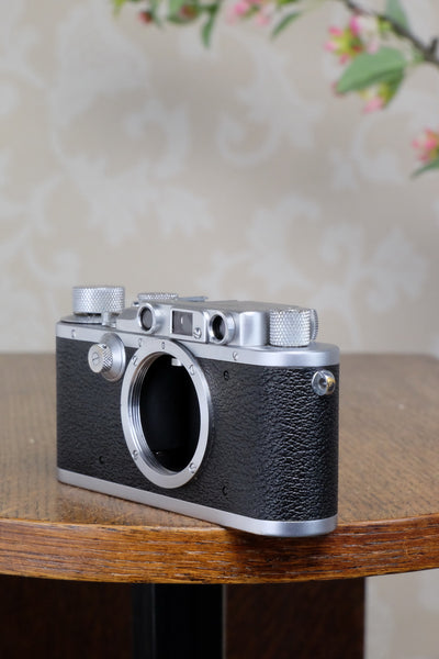 1938 Leitz Leica body, CLA'd, Freshly Serviced!