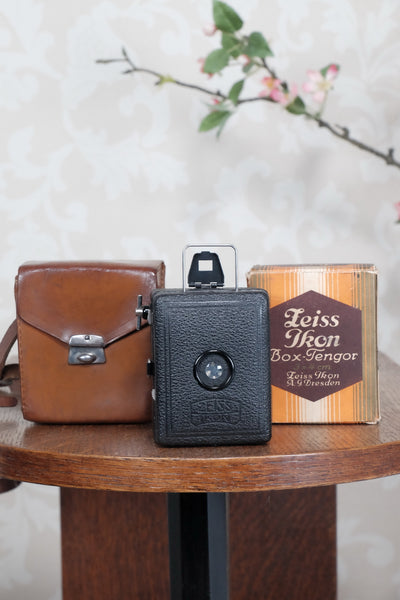 1930 Zeiss Ikon Baby Box Tengor with original box, Freshly Serviced, CLA'd! - Zeiss-Ikon- Petrakla Classic Cameras