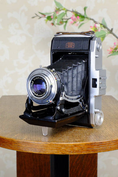 Excellent! 1955 6x9 Zeiss-Ikon Nettar, CLA'd, Freshly Serviced!