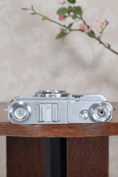 Superb! 1937 Zeiss Ikon Contax II Body, CLA'd, Freshly Serviced! - Petrakla Classic Cameras