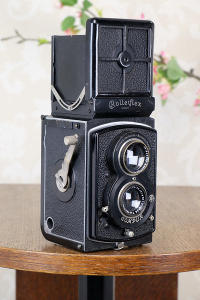 1932 Old Standard Rolleiflex, Freshly Serviced, CLA'd