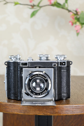 1937 35mm Certo Dollina III Rangefinder camera, CLA'd, Freshly Serviced!