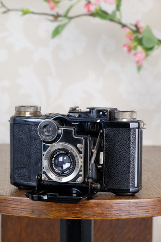 1935 Zeiss-Ikon Super Nettel (236/24), CLA'd, Freshly Serviced!