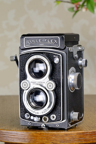 Excellent! 1938 Rolleiflex Automat, Freshly Serviced, CLA'd