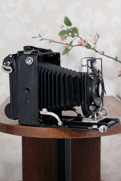 1929 Voigtlander Bergheil Camera with Heliar lens and Roll film back! Freshly serviced CLA'd Freshly serviced, CLA'd! - Voigtlander- Petrakla Classic Cameras