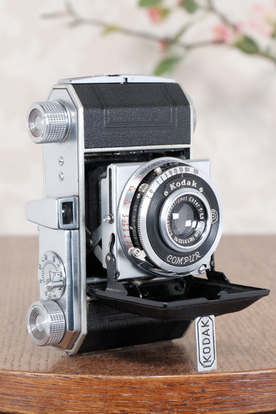 1938 Kodak Retina I, type 141, German production (Nagel), CLA'd, Freshly Serviced! - Petrakla Classic Cameras
