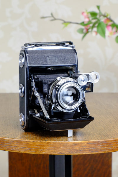 Superb! 1948 Zeiss Ikon Super Ikonta, CLA'd, Freshly Serviced!