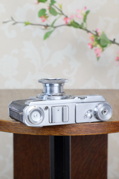 1938 Zeiss Ikon Contax II CLA'd, Freshly Serviced!