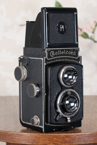 SUPERB! 1934 Rolleicord, Freshly Serviced!