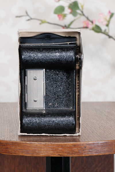 Rollex-Patent 120 Roll-film Back for the 6x9 Voigtlander Bergheil Camera - Rollex- Petrakla Classic Cameras
