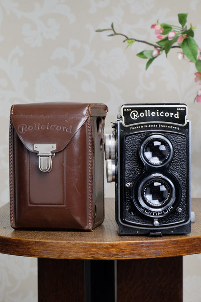 SUPERB! 1936 Rolleicord CLA'd Freshly Serviced!