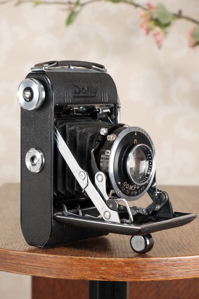 Superb! 1939 CERTO Super Sport Dolly with Coupled rangefinder, CLA'd, Freshly Serviced! - Certo- Petrakla Classic Cameras