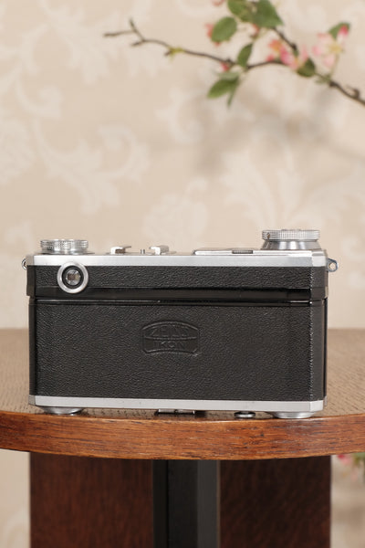 1939 Zeiss Ikon Contax II Body and lens, CLA'd, Freshly Serviced! - Zeiss-Ikon- Petrakla Classic Cameras