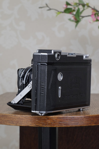 RARE! A 1938 Zeiss Ikon Super Ikonta, with T Coated Tessar lens, CLA'd, Freshly Serviced! - Zeiss-Ikon- Petrakla Classic Cameras