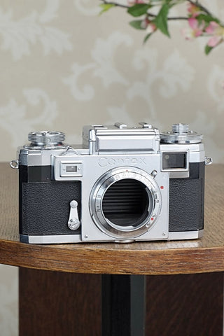 Superb! 1959 Zeiss Ikon Contax IIIa, CLA'd, Freshly Serviced!