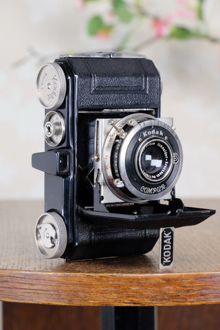 SUPERB! 1935 Black Kodak Retina I, CLA'd, Freshly Serviced!