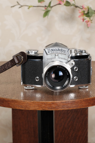 One brown leather wrist strap for vintage cameras. Free Shipping! - Petrakla Classic Cameras