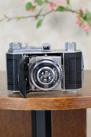 1938 Kodak Retina I, type 141, German production, Nagel factory for European market, CLA'd, Freshly Serviced! - Kodak- Petrakla Classic Cameras