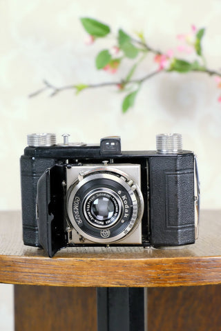 1939 Kodak Retina I (143), German production, Nagel factory for Europe, CLA'd, Freshly Serviced! - Kodak- Petrakla Classic Cameras