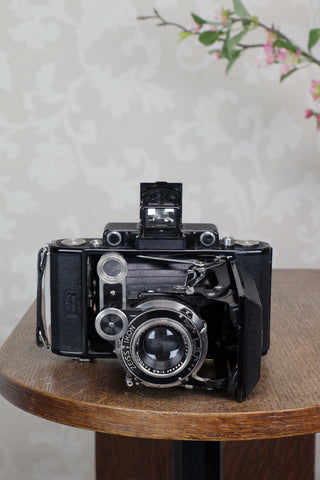 Superb! 1936 6x9 Super Ikonta with Tessar Lens, Freshly serviced ,CLA'd