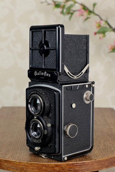 Excellent! 1934 Old Standard Rolleiflex, Freshly Serviced, CLA'd!