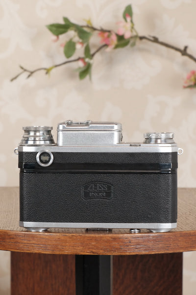 1940 Zeiss Ikon Contax with a 1.5/50mm T coated Sonnar. CLA'd, Freshly Serviced! - Zeiss-Ikon- Petrakla Classic Cameras