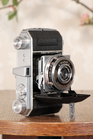 1938 Kodak Retina I, type 141, German production, Nagel factory for European market, CLA'd, Freshly Serviced! - Petrakla Classic Cameras