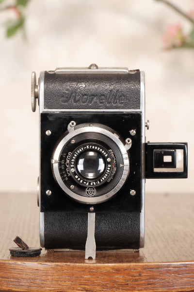 1932 KOCHMANN KORELLE, German folding camera, Freshly Serviced, CLA'd! - Kochmann- Petrakla Classic Cameras