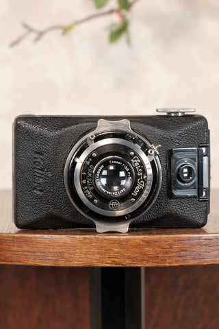 Superb! 1930 Zeiss-Ikon Kolibri Camera,  CLA'd,  Freshly Serviced!
