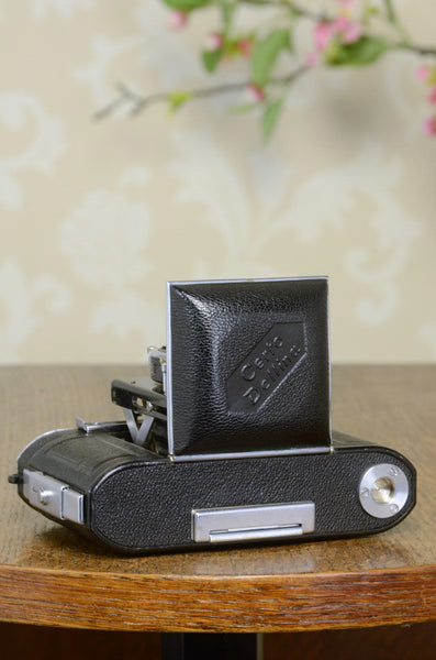 SUPERB! 1935 35mm Certo Dollina folding camera, Freshly Serviced! - Certo- Petrakla Classic Cameras