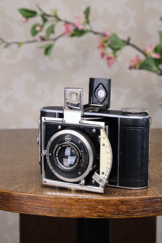 Lovely! 1934 CERTO DOLLY (model B), German folding camera. Freshly Serviced! - Certo- Petrakla Classic Cameras