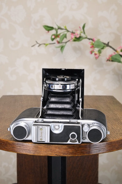 1949 ENSIGN COMMANDO 6x6 / 6X4.5 coupled Rangefinder Camera, FRESHLY SERVICED! - Ensign- Petrakla Classic Cameras